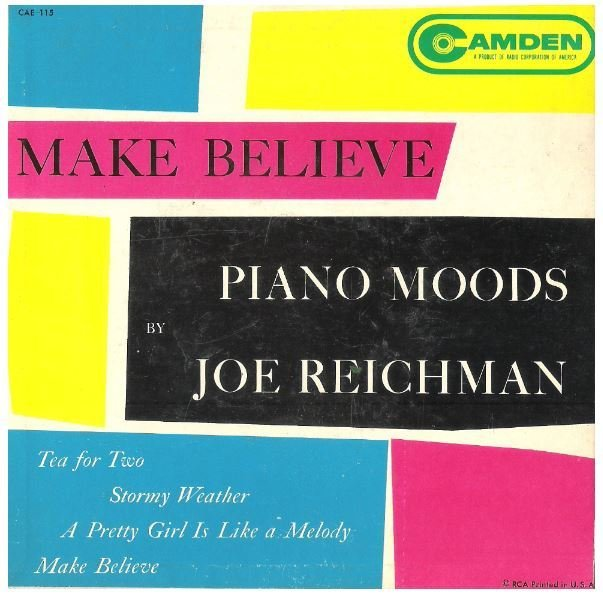 "Reichman, Joe / Piano Moods | RCA Camden CAE-115 | EP, 7"" Vinyl"