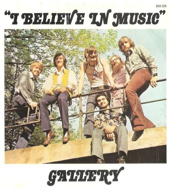 "Gallery / I Believe In Music | Sussex SUX-239 | Single, 7"" Vinyl 