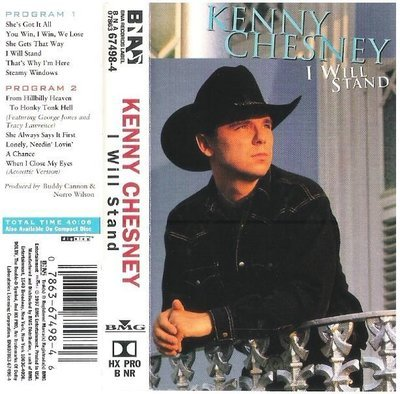 Chesney, Kenny / I Will Stand | BNA 67498-4 | Cassette | July 1997
