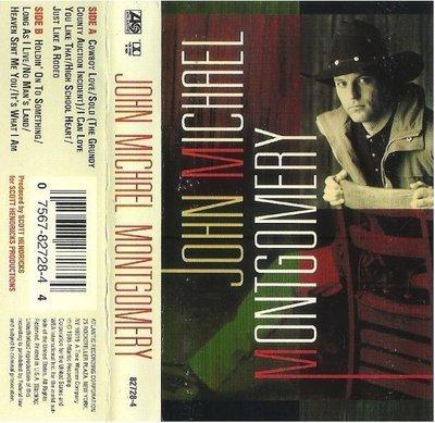 Montgomery, John Michael / John Michael Montgomery | Atlantic 82728-4 | Cassette | March 1995