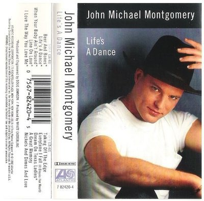 Montgomery, John Michael / Life's a Dance | Atlantic 82420-4 | Cassette | October 1992