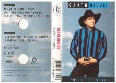 Brooks, Garth / Ropin' the Wind | Capitol Nashville C4-96330 | Cassette | September 1991