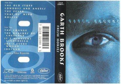 Brooks, Garth / Fresh Horses | Capitol Nashville 32080-4-3 | Cassette | November 1995