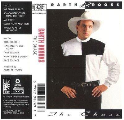 Brooks, Garth / The Chase | Liberty C4-98743 | Cassette | September 1992