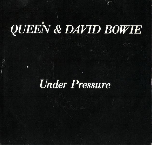 "Queen + David Bowie / Under Pressure   Elektra E-47235   Single, 7"" Vinyl   October 1981"