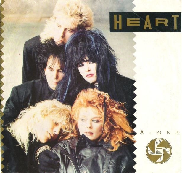 "Heart / Alone | Capitol B-44002 | Single, 7"" Vinyl 