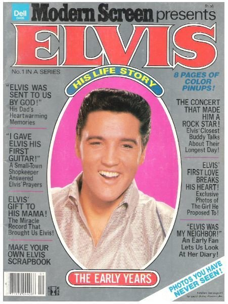 Presley, Elvis / Modern Screen Presents Elvis - No. 1 in a Series | Magazine | 1979