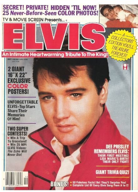 Presley, Elvis / TV + Movie Screen Presents...Elvis | Magazine | October 1987