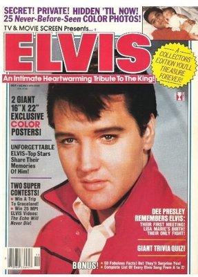 Presley, Elvis / TV + Movie Screen Presents...Elvis | Magazine | October 1987