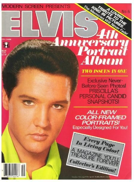 Presley, Elvis / Modern Screen Presents Elvis - No. 6 | Magazine | 1981