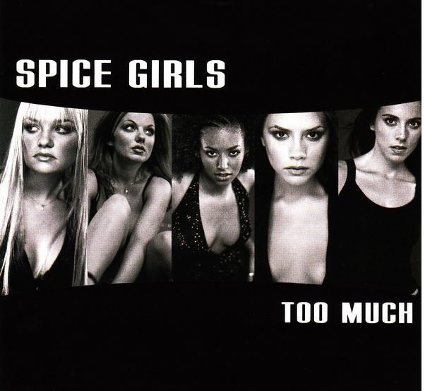 Spice Girls / Too Much | Virgin | CD Single | January 1998