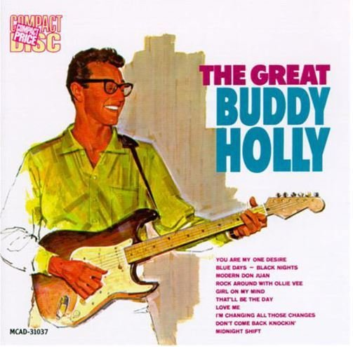 Holly, Buddy / The Great Buddy Holly | MCA | CD | April 1958
