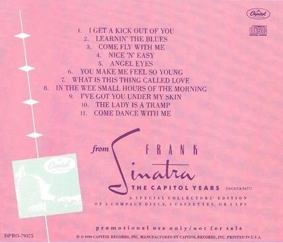 Sinatra, Frank / The Capitol Years - Sampler | Capitol | CD | 1990