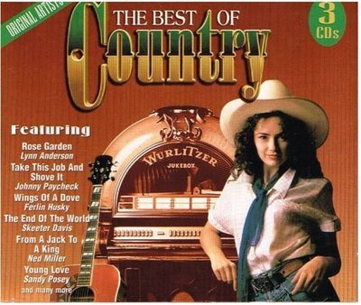 Various Artists / The Best of Country | Madacy | 3 CD Set | 1997 | Canada