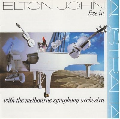 John, Elton / Live In Australia with The Melbourne Symphony Orchestra | MCA | CD | July 1987