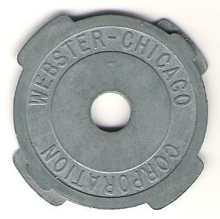 Webster-Chicago Corporation / Metal | 45 RPM Adapter