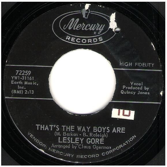 """Gore, Lesley / That's the Way the Boys Are 
