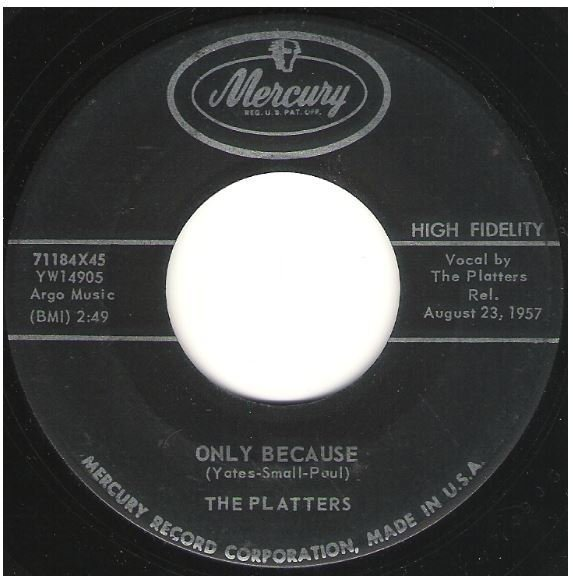 """Platters, The / Only Because 