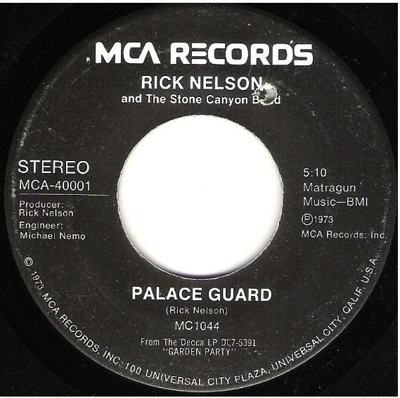 """Nelson, Rick / Garden Party 