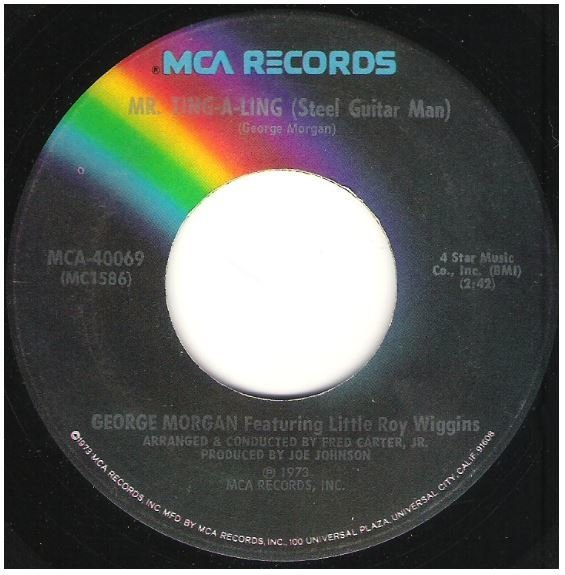 """Morgan, George / Mr. Ting-A-Ling (Steel Guitar Man) 