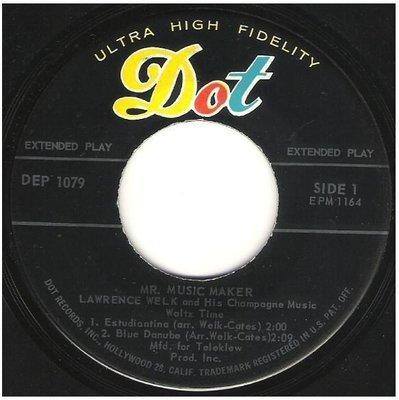 Welk, Lawrence / Mr. Music Maker - Waltz Time | Dot DEP-1079 | EP, 7