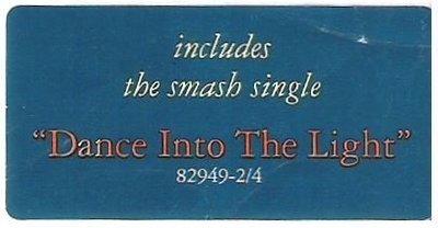Collins, Phil / Dance Into the Light | Atlantic 82949-2/4 | Sticker | October 1996