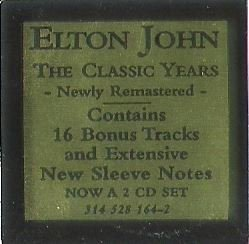 John, Elton / Here and There | Rocket 314 528 164-2 | Sticker | 1995