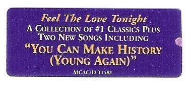 John, Elton / Love Songs | MCA MCAC/D-11481 | Sticker | September 1996