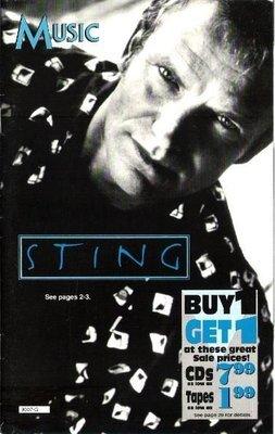 Sting / Music (Columbia House) | Catalog | 1993
