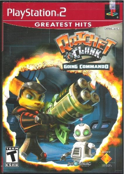 Playstation 2 / Ratchet + Clink - Going Commando | Sony SCUS-97268GH | Video Game | 2003