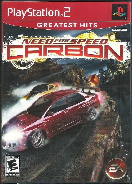 Playstation 2 / Need For Speed - Carbon | Sony SLUS-21493GH | Video Game | 2007