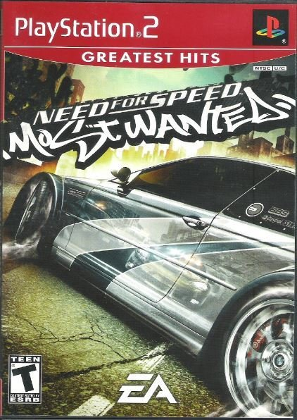Playstation 2 / Need For Speed - Most Wanted | Sony SLUS-21267GH | Video Game | 2006