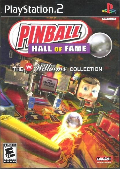 Playstation 2 / Pinball Hall of Fame - The Williams Collection | Sony SLUS-21589 | Video Game | 2007