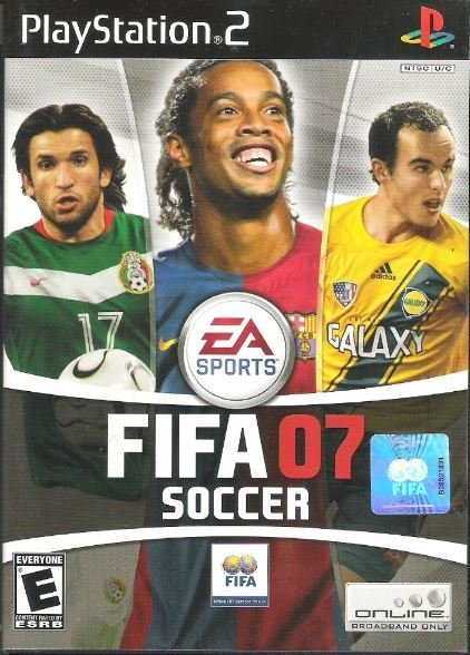 Playstation 2 / FIFA 07 Soccer | Sony SLUS-21433 | Video Game | 2006