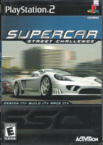 Playstation 2 / Supercar - Street Challenge | Sony SLUS-20012 | Video Game | 2001
