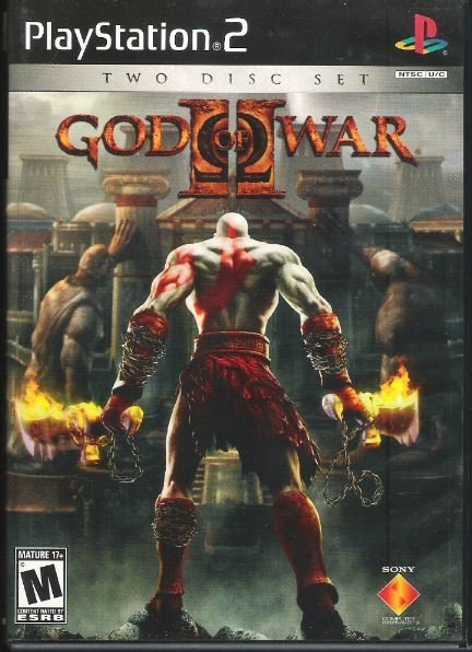 Playstation 2 / God of War II | Sony SCUS-97481 | Video Game | 2007 | with Bonus Disc