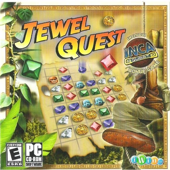 Jewel Quest / Brighter Minds P/N 61240-CD | Video Game | 2008 | Includes Bonus Game