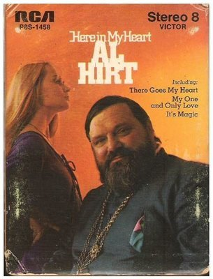 Hirt, Al / Here In My Heart | RCA Victor P8S-1458  | White Shell | 8-Track Tape | 1969