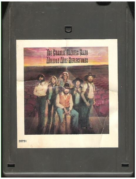 Daniels, Charlie (Band) / Million Mile Reflections | Epic JEA-35751  | Light Black Shell | 8-Track Tape | April 1979