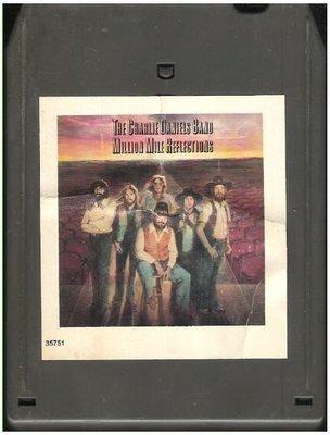 Daniels, Charlie (Band) / Million Mile Reflections | Epic JEA-35751  | Light Black Shell | 8-Track Tape | April 1979