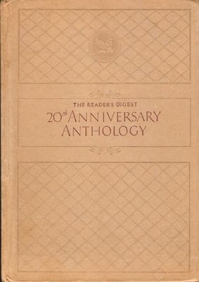 Reader's Digest / 20th Anniversary Anthology | Book | Various Authors | 1941