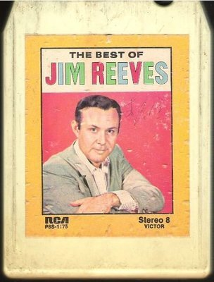 Reeves, Jim / The Best of Jim Reeves | RCA P8S-1175  | White Shell | 8-Track Tape | 1964
