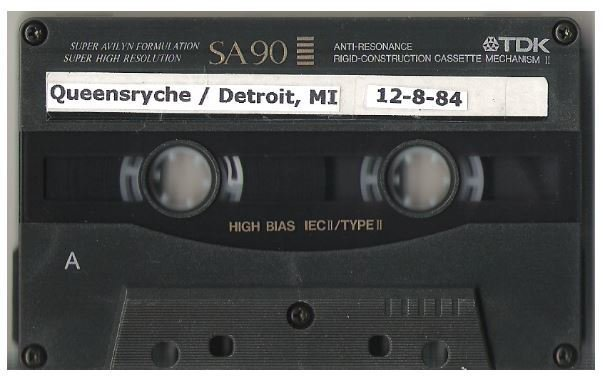 Queensryche / Detroit, MI | Live Cassette | December 1984