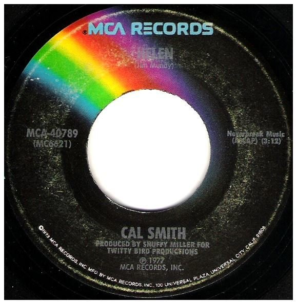 "Smith, Cal / Helen | MCA 40789 | Single, 7"" Vinyl | September 1977"
