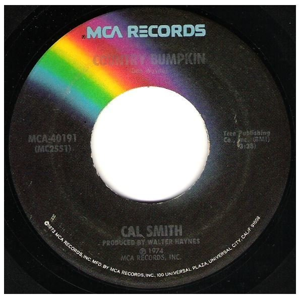 "Smith, Cal / Country Bumpkin | MCA 40191 | Single, 7"" Vinyl 
