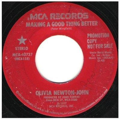 Newton-John, Olivia / Making a Good Thing Better | MCA 40737 | Single, 7