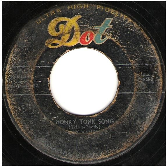 "Van Dyke, Leroy / Honky Tonk Song | Dot 45-15561 | Single, 7"" Vinyl 