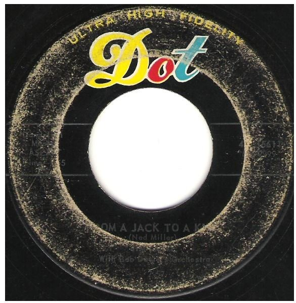 "Lowe, Jim / From a Jack to a King | Dot 45-15611 | Single, 7"" Vinyl 