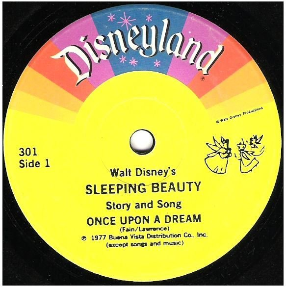 "Disney, Walt / Walt Disney's Sleeping Beauty | Disneyland 301 | Single, 7"" Vinyl 