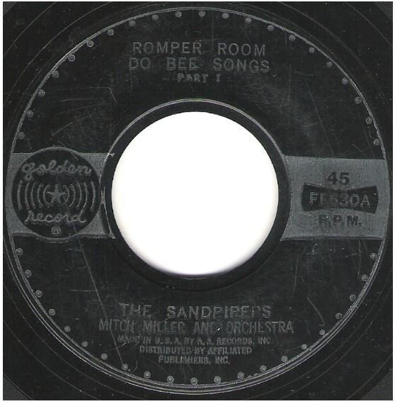 """Sandpipers, The / Romper Room Do Bee Songs 